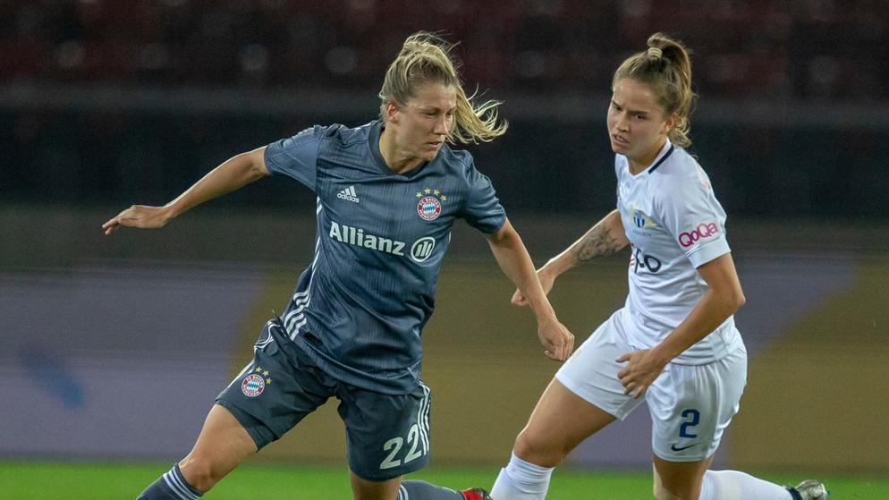 SWITZERLAND SOCCER WOMEN CL ZUERICH BAYERN