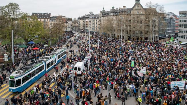 SWITZERLAND CLIMATE PROTEST